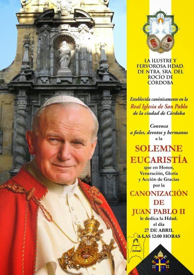 Foto del cartel de la página de Rociero y Cofrade