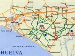 Plano de Caminos de Huelva