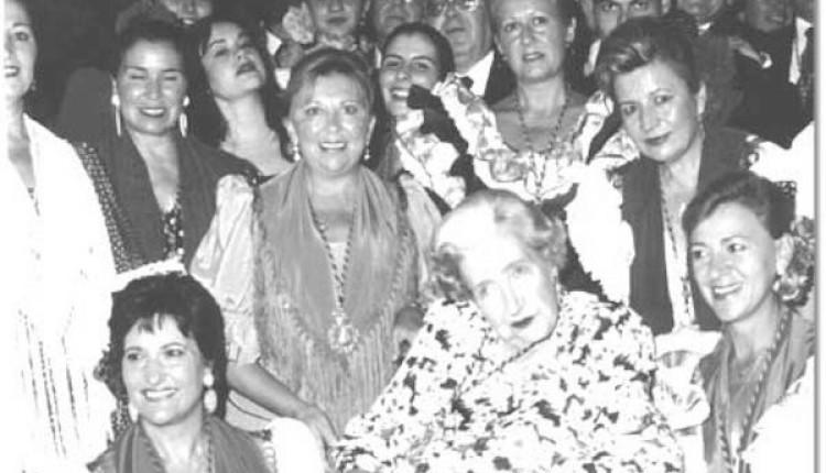 LA CONDESA DE BARCELONA, HERMANA DE LA HDAD. DE RONDA