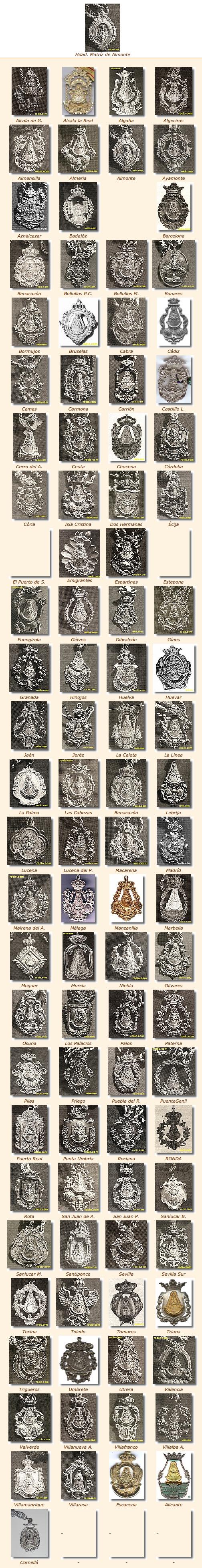 Medallas del Rocío