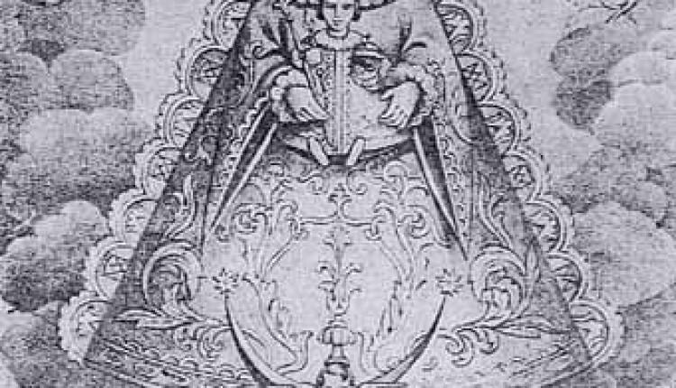 Grabados antiguos de la Virgen