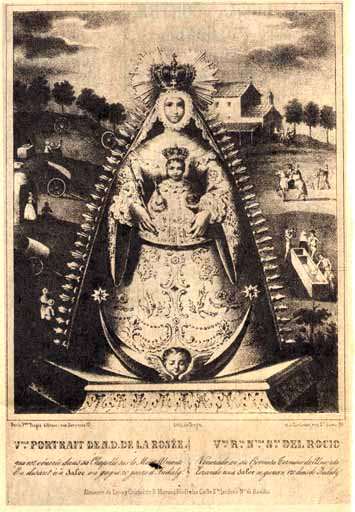 Litografía de Turgis, París-Toulouse. S. XIX.