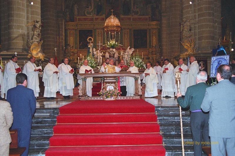 Camino Europeo-Jaen-Misa Catedral