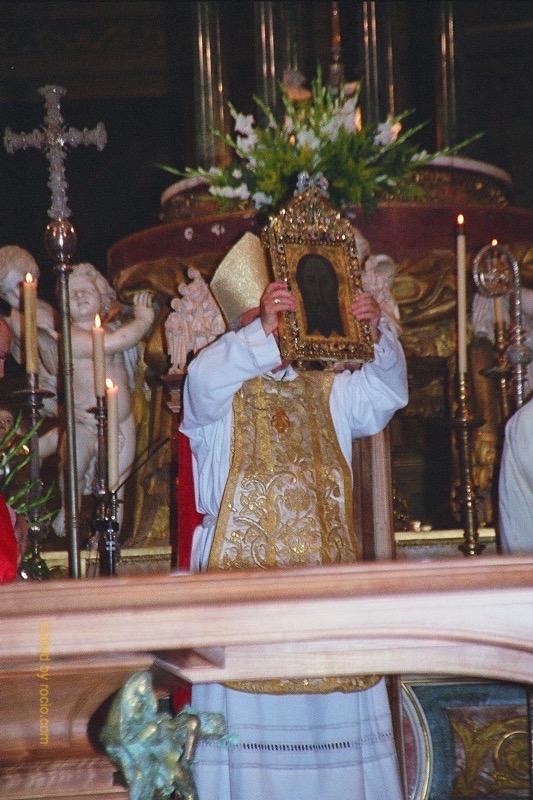 Camino Europeo-Jaen-Obispo Bendición