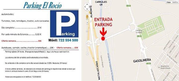 aparcamiento rocio privado 2015