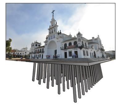 cimentación ermita