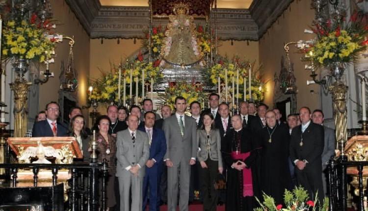 Los Príncipes reciben la Medalla de Honor de la Hermandad Matriz del Rocío de Almonte