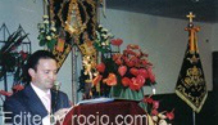 FRANCISCO JOSÉ PAVÓN, PREGONERO DE LA SEMANA SANTA DE VALENCINA Y DE LA CORONACIÓN DE LA VIRGEN DE LOS DOLORES DE GINES