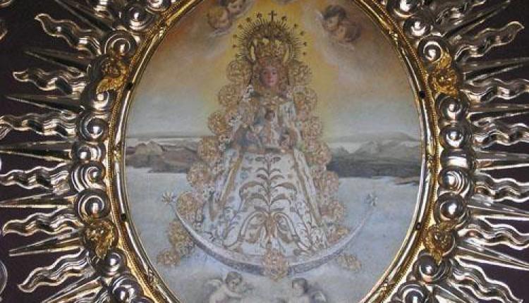 La Virgen en el Simpecado