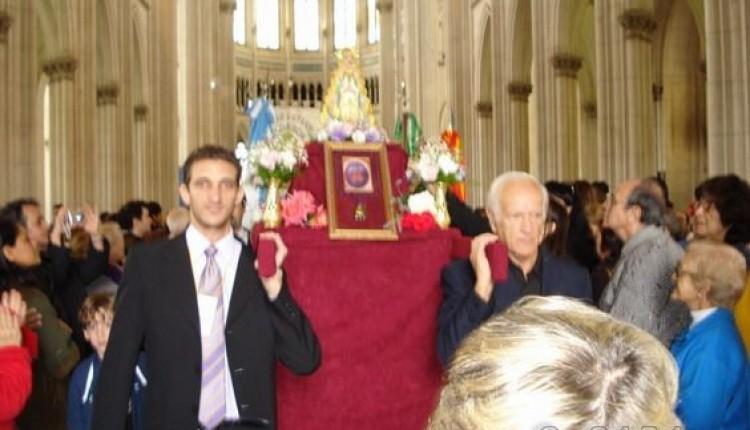 Santos Lugares (Argentina) – Sexta Misa, Romería y Procesión de la Virgen del Rocío (04/05/08)