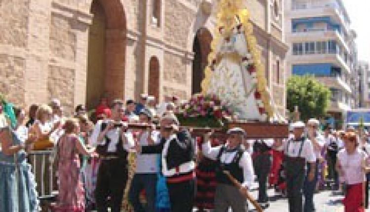 Asociación Ntra. Sra. del Rocío de Torrevieja – Juan Diego Ramos, Pregonero de la Romería 2015