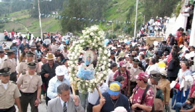 Biblián (Ecuador) – Fieles de la Virgen del Rocío en romería 2008-09-09