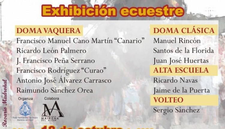 Hermandad del Rocío de Mairena del Alcor – II Exhibición Ecuestre