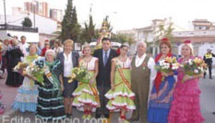 Benidorm –  Centenares de «romeros»  participan en el  «Rocío Chico» de Benidorm