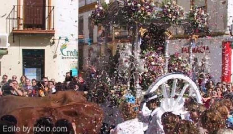 Alcalá de Guadaíra – La hermandad del Rocío recibe la llave de la ciudad