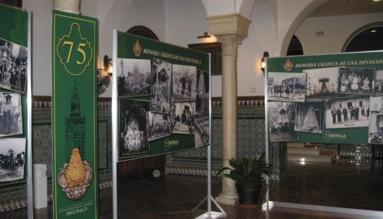 Exposición y Actos 75 Aniversario Hermandad de SEVILLA El Salvador