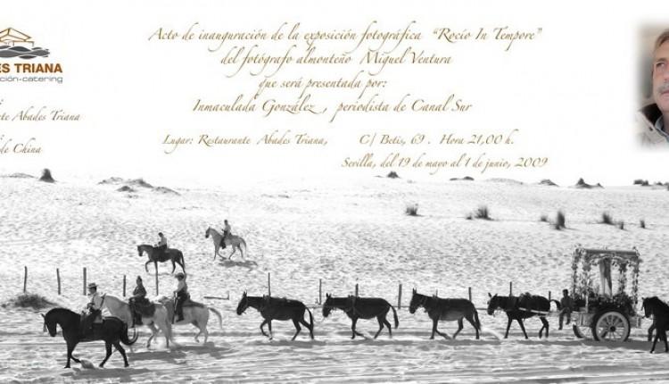 Rocío -In Tempore- Exposición de fotografías de Miguel Ventura