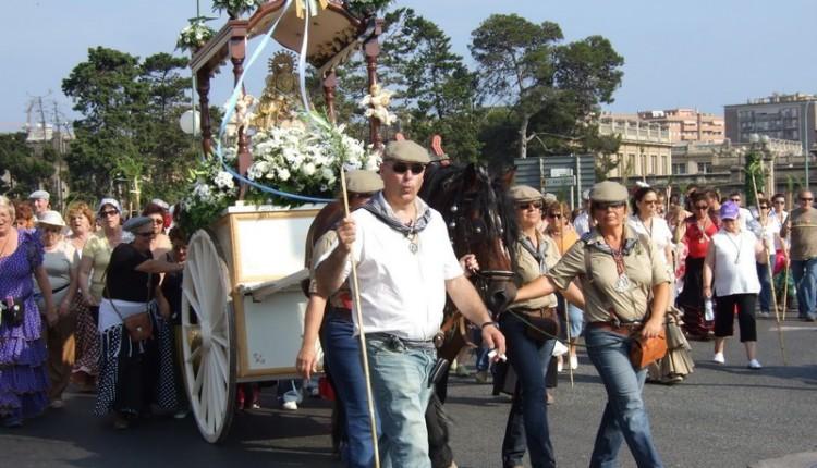 Actos Romería en Honor a la Virgen del Rocío de Tarragona 2009