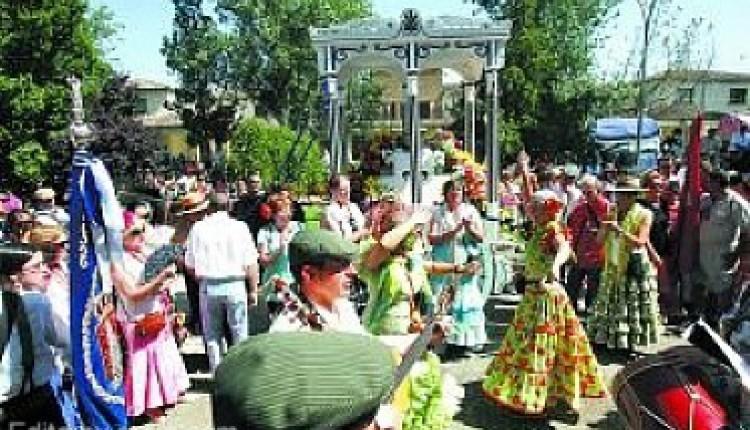 2.000 romeros en un Rocío de Rada celebrado a más de 35 grados