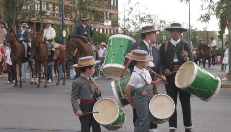 Fotos entrada en Sevilla de Macarena, Sevilla, Triana y el Cerro 2009