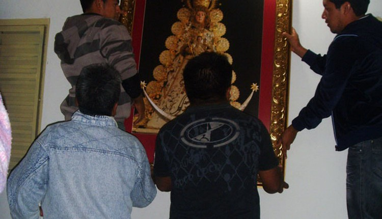 Ofrenda del Foro 2009 – Centro Virgen del Rocío en Buriti (Brasil)