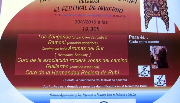 Hermandad Rociera Andaluza de Rubí – Festival de invierno
