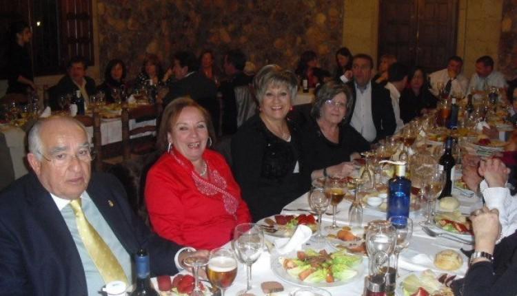 La Hermandad del Rocio de Murcia celebró una cena de enamorados