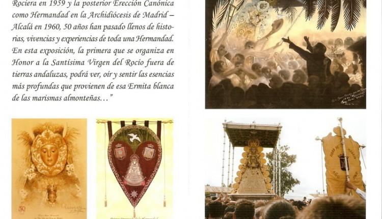 HermandaddeMadrid – Programa de la Exposición en Honor a la Santísima Virgen del Rocío