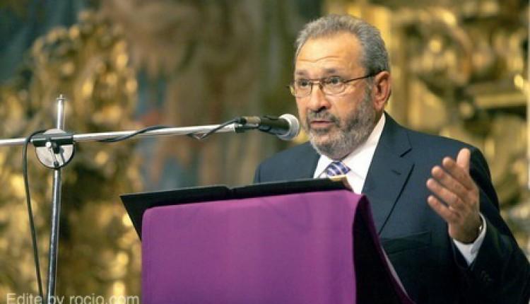 Pregón Rociero de la Hermandad del Rocio de Bonares – El pregonero será D. Antonio Garcia Barbeito