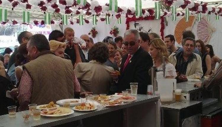 Hermandad de Nuestra Señora del Rocío de Valencia – Caseta en la Feria Andaluza
