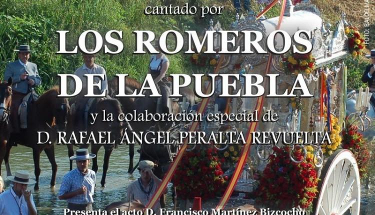 Cartel anunciador del Pregón de la Hermandad del Rocío de Puebla del Río