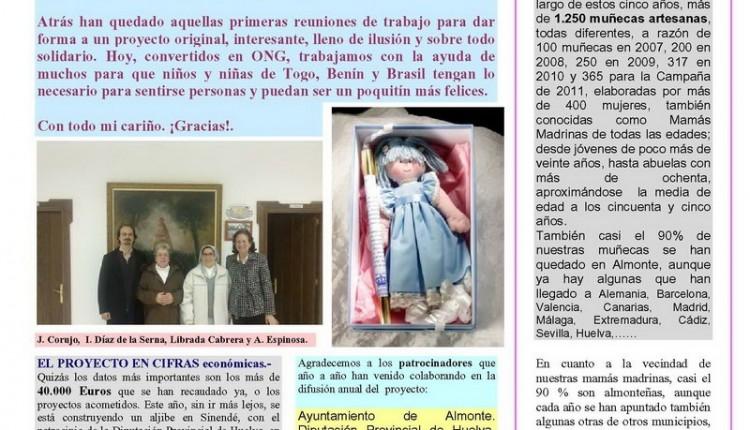 Muñecas Madrinas – V Aniversario del proyecto