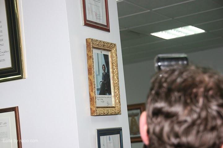 Foto de la Reina Dª Sofia, hermana honoraria de la Hermandad