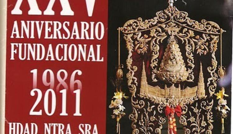 Hermandadde Sevilla Sur – CALENDARIO DE ACTOS XXV ANIVERSARIO