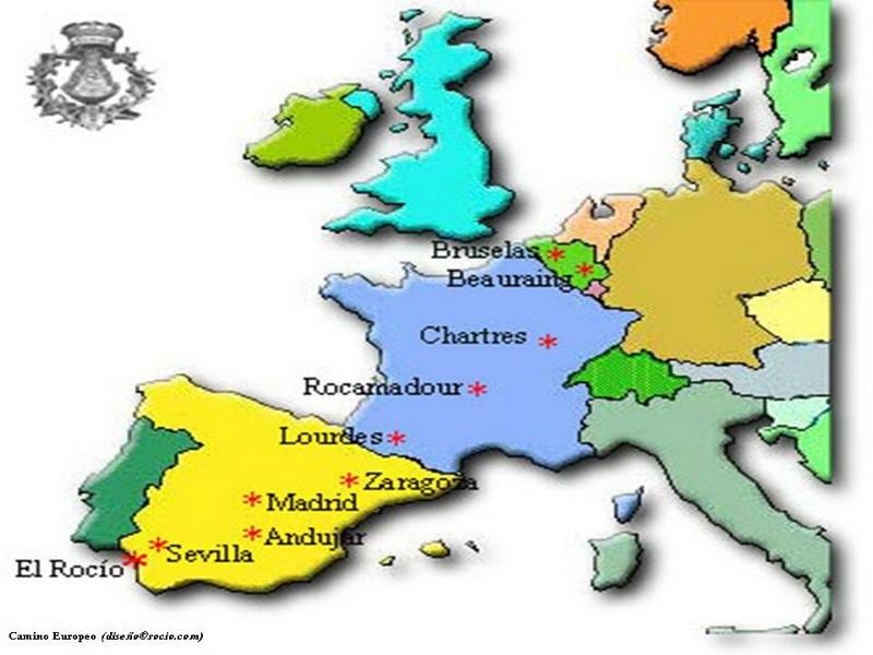 Etapas Camino Europeo
