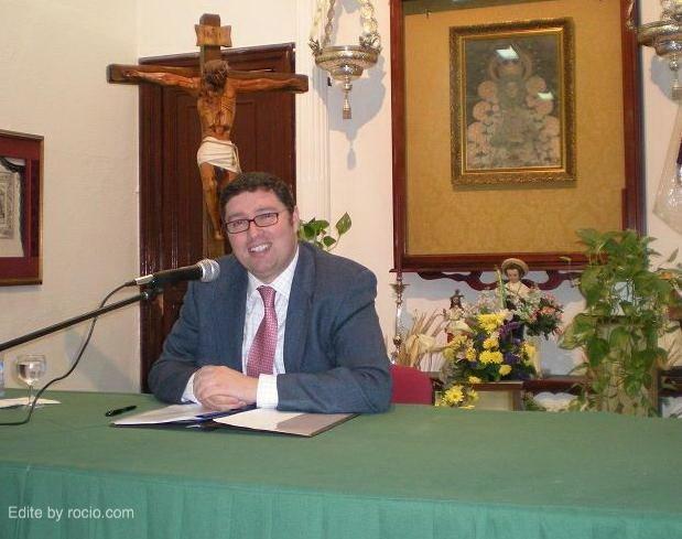 Juan Ignacio Reales Espina en una reciente conferencia