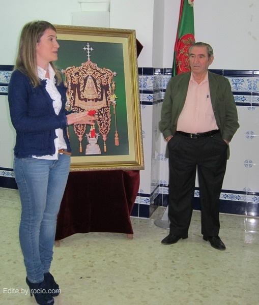 María José Tirado, Hermana Mayor del Rocío de Los Palacios, expuso sus vivencias junto a su padre, Joaquín Tirado, trasplantado de hígado.