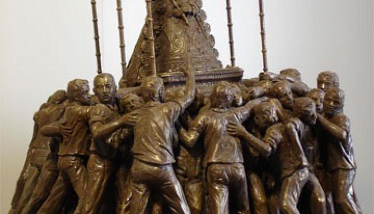 INAUGURACIÓN Y BENDICIÓN DEL MONUMENTO A LA  STMA. VIRGEN DEL ROCÍO EN HUELVA