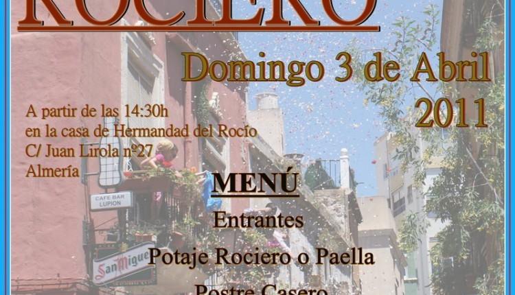 VI POTAJE ROCIERO Organizado por el Grupo Joven de la Hermandad de Nuestra Señora del Rocío de Almería