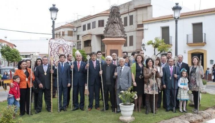 Hermandad de Gibraleón – Inauguración del monumento a la Virgen del Rocío