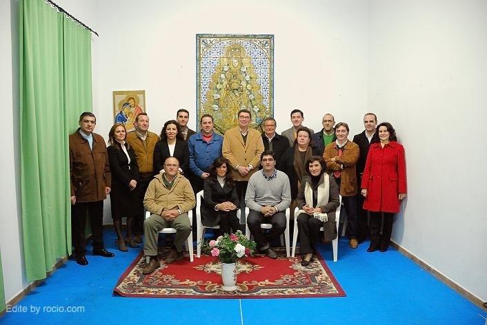 Candidatura oficial de la Junta de la Hdad. Matriz