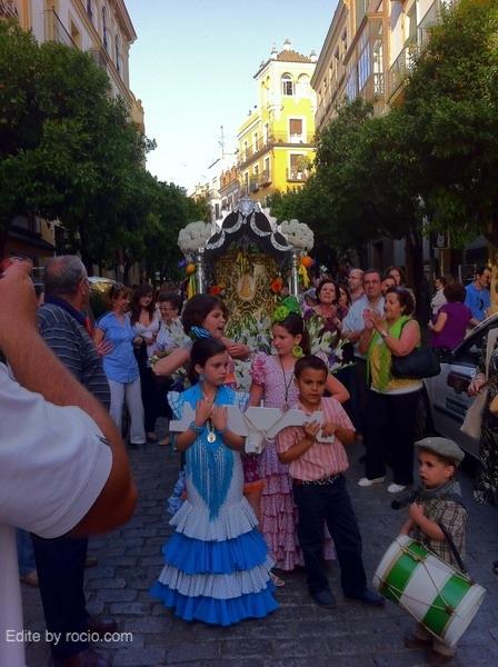 En la calle Mateo Gago