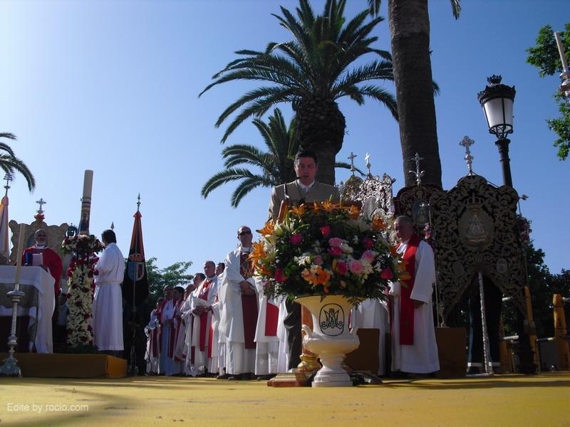 En la Misa de Pentecostés