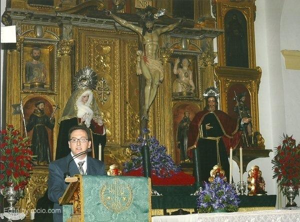 Pregón de la Semana Santa en Villamanrique año 2009