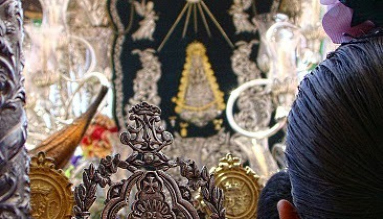 Hermandad de Valverde del Camino – Cartel que anuncia la Romería del Rocío 2011