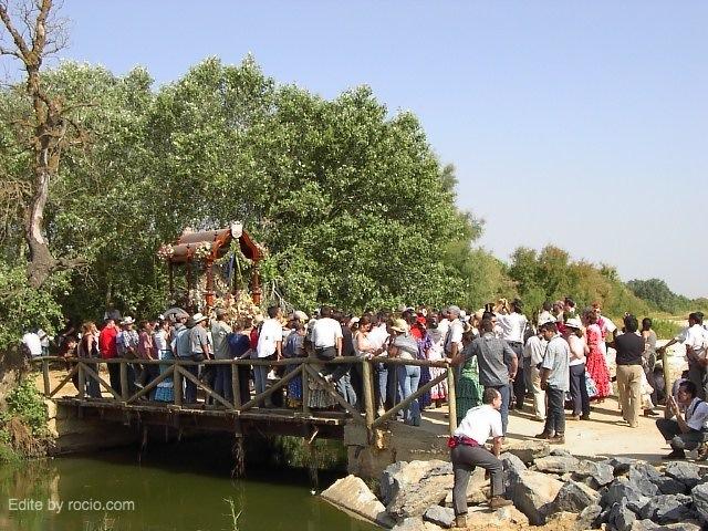 Chucena en el Puente del Ajolí