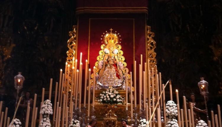 Hermandad de Sevilla El Salvador – 2º día del Quinario a Ntra. Sra.