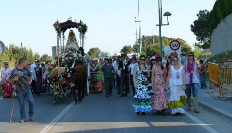Asociación Cultural y Folklórica Andaluza en TARRAGONA – Celebración Romería de  El Rocío