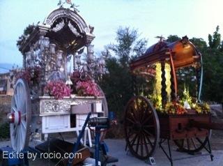 Foto del Simpecao de Almeria junto al de Guadix