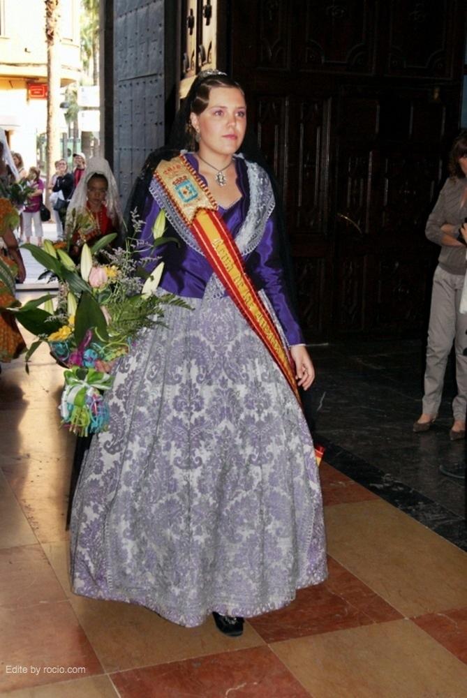 La reina de fiestas